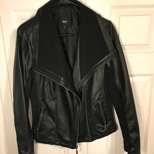 Mossimo faux leather moto jacket